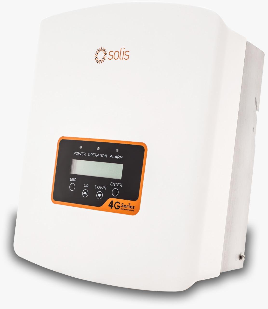 Solis 1.5 kW Mini Simple 4 G MPPT Tracker Grid Tied Solar PV IP65