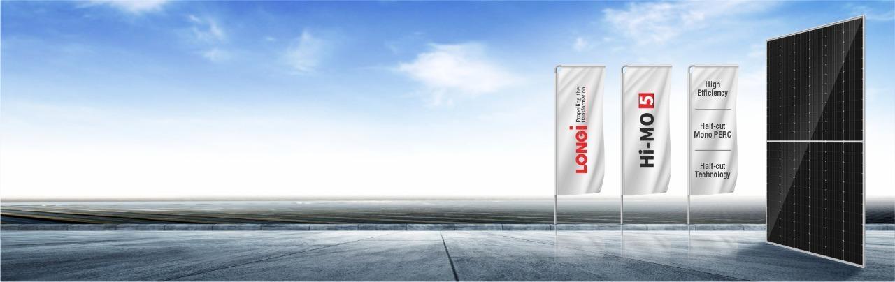 longi solar panel india